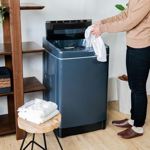 縦型洗濯機 ダークグレイ
