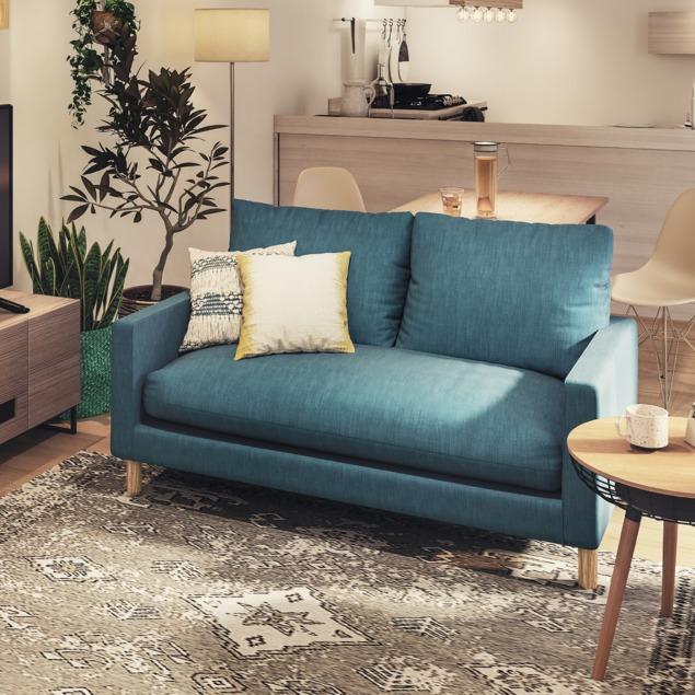 ちょうど良いサイズのソファ